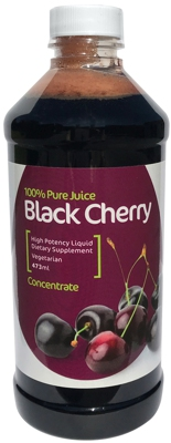 100% Pure Concentrated Black Cherry Juice