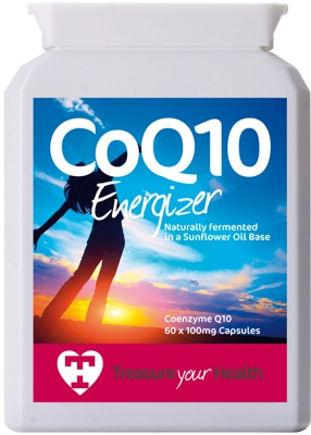 Co Q10 100mg capsules for a healthy heart