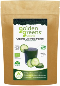 Organic Chlorella Powder.