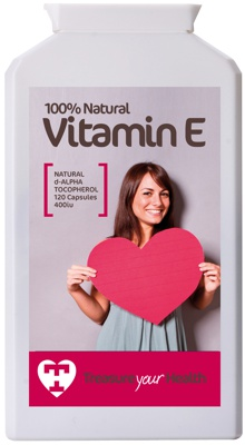 Natural Vitamin E, d-alpha tocopherol